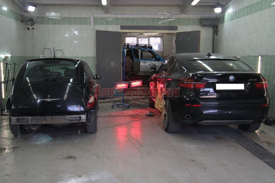 bmw 03 - Частичная окраска деталей автомобиля