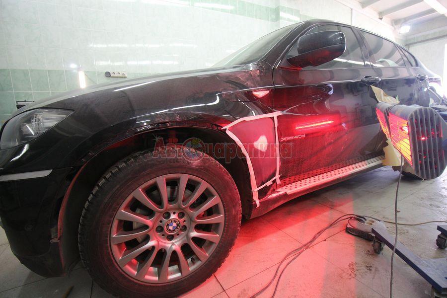 bmw 04 - Частичная окраска деталей автомобиля