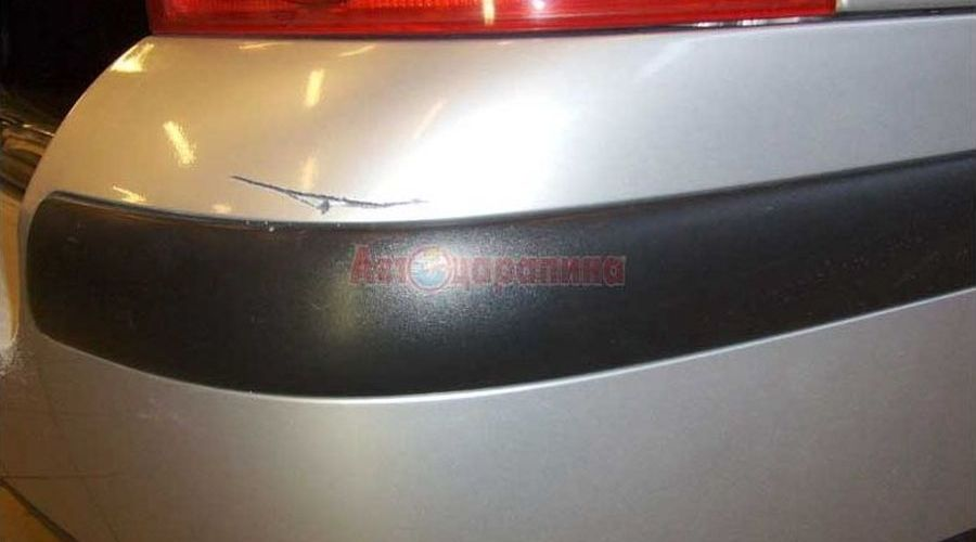 bumper 01 - Частичная окраска деталей автомобиля